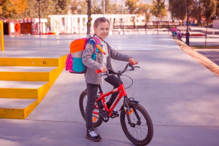Прокат детских велосипедов