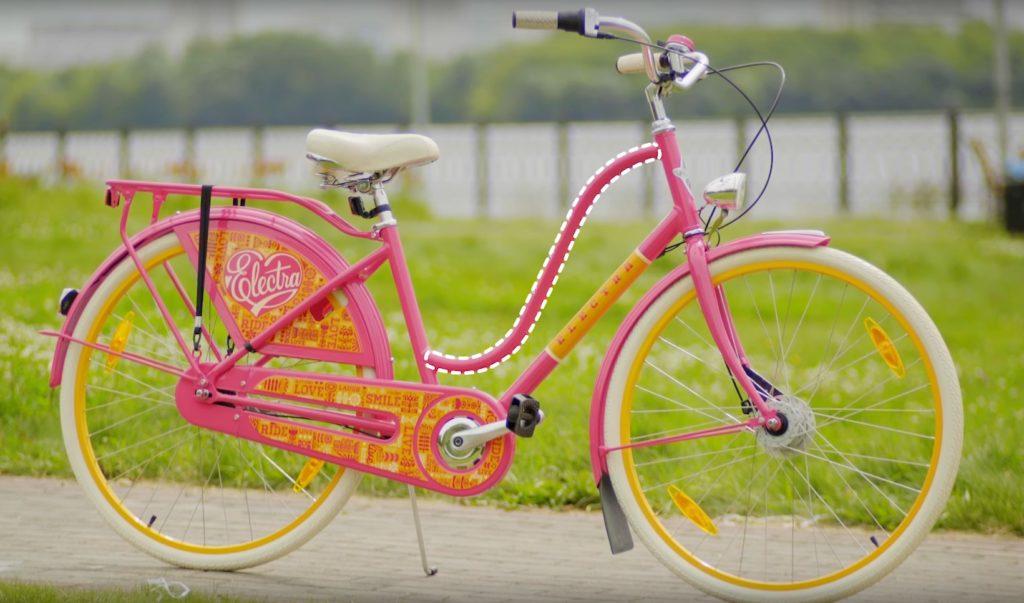 комфортный женский велосипед