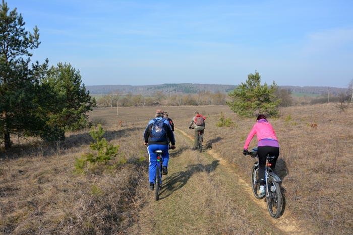 открытие велосезона в Луганске